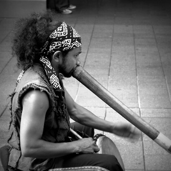 The Didgeridoo-ist by Ben Loveday