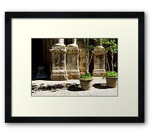 Old Havana Streetscape Framed Print