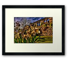 Fractalius Daffodils, All Saints Framed Print