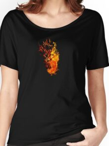 I Will Burn You - Text Edition Women's Relaxed Fit T-Shirt