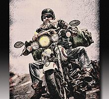 Live To Ride by Richard  Gerhard