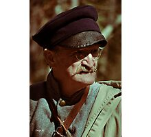 Texas Army Soldier Photographic Print