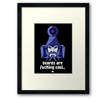 "Transformers - ""Scourge"" (with Slogan) Framed Print"