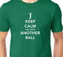 Keep Calm and Golf On Unisex T-Shirt