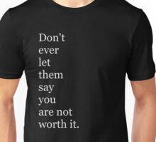 DONT EVER Unisex T-Shirt