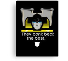 "Transformers - ""Sunstreaker (with Motto)"" Canvas Print"
