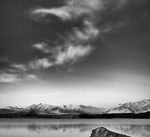 Tekapo Moonrise by meredithnz
