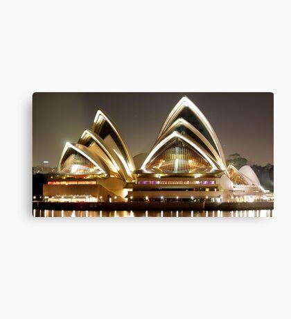Sydney Opera House by night Canvas Print