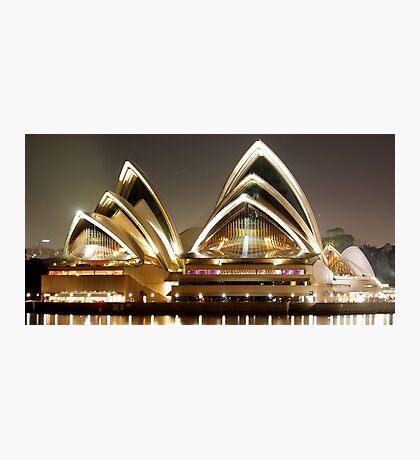 Sydney Opera House by night Photographic Print