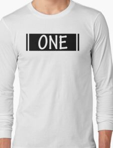 Band One Black Long Sleeve T-Shirt