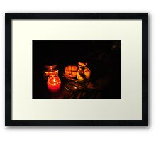 Nutella is coming to get you...Be afraid. Framed Print