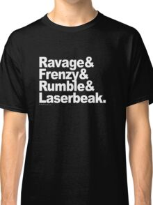 "Transformers - ""Text"" Classic T-Shirt"