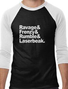 """Transformers - """"Text"""" Men's Baseball ¾ T-Shirt"""