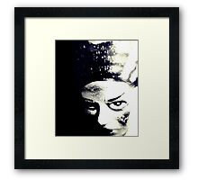 Bride of Frankenstein 1 Framed Print