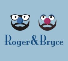 Roger & Bryce - Plain Tee Light by Steve Edwards
