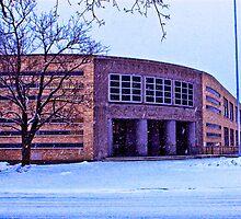 Longfellow School by evergleammm