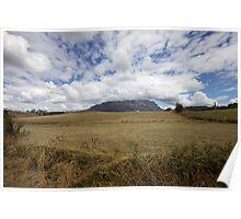 Big Sky at Mount Roland Poster