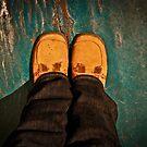 My feet. by evergleammm