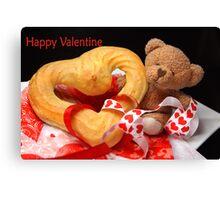 Happy Valentine Canvas Print
