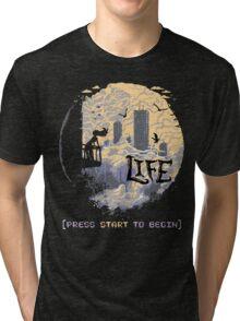 Press Start Tri-blend T-Shirt