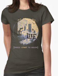 Press Start Womens Fitted T-Shirt