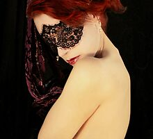 My Eyes Whisper Secrets That I Keep Covered  II by Jennifer Rhoades