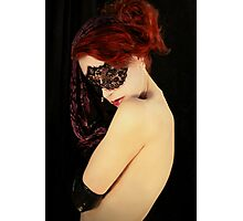 My Eyes Whisper Secrets That I Keep Covered  II Photographic Print