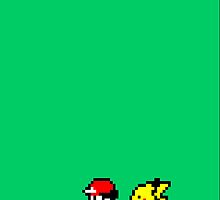 Ash and Pikachu iPhone case by ceejsterrr