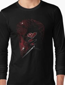 DEADBUNNY - amor·ach·ne·pho·bi·a (on black) Long Sleeve T-Shirt