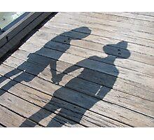 Shadow of Love Photographic Print