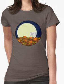 Welcome Great Pumpkin! Womens Fitted T-Shirt