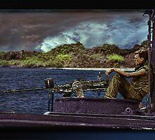 River Patrol by Richard  Gerhard