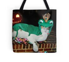 Calico Cat Costume Frog for Halloween Tote Bag