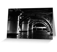 Under the Bridge.... Greeting Card