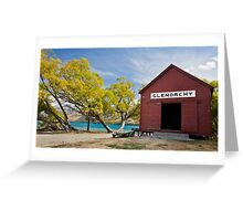 Little red hut... Greeting Card