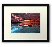 Floating Peacefully Framed Print