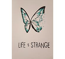Life Is Strange - Butterfly Photographic Print