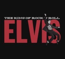 Elvis the King of Rock n'Roll by Alternative Art Steve