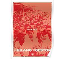 #Hilang #Gestok (Rakyat/People) Poster