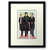 Baker Street BAMFS Framed Print