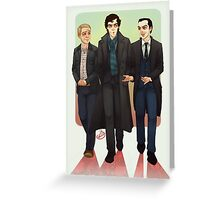 Baker Street BAMFS Greeting Card
