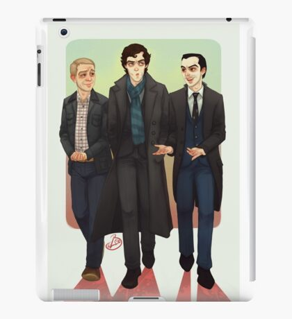 Baker Street BAMFS iPad Case/Skin