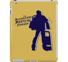 The Bloodcurdling Beefcake Emperor! iPad Case/Skin