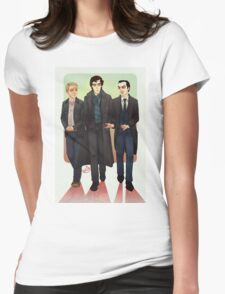 Baker Street BAMFS Womens Fitted T-Shirt