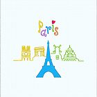 I love Paris by favoritedarknes