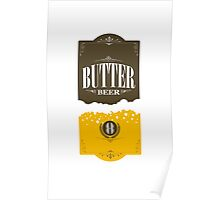Butter Beer Poster