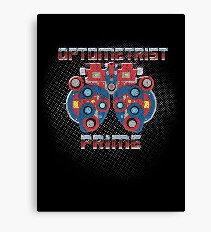 Optometrist Prime Canvas Print
