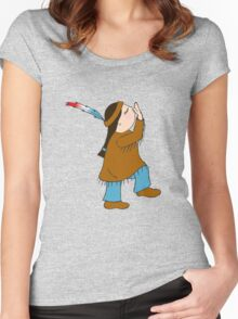 Pocahontas Women's Fitted Scoop T-Shirt