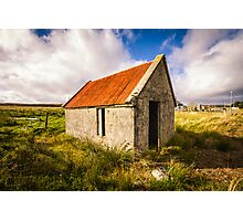 Red Shed Photographic Print