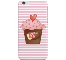 Cupcake love iPhone Case/Skin
